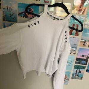 Victoria Secret PINK white long sleeve